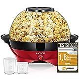 Macchina Popcorn, 5L Macchina per Popcorn con Rivestimento con Antiaderente,...