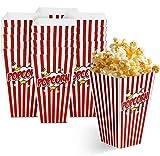 Matana 50 Grandi Scatole per Popcorn per Serate al Cinema e Feste - 18x10cm