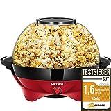 Aicook Macchina Popcorn, 5L Macchina per Popcorn con Rivestimento con Antiaderente,...