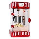 Klastein Vulcano - Macchina per popcorn, Design anni '50, 300 watt, Tempo di...