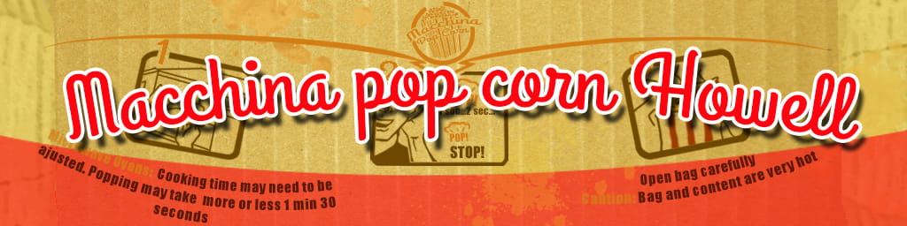 howell macchina pop corn